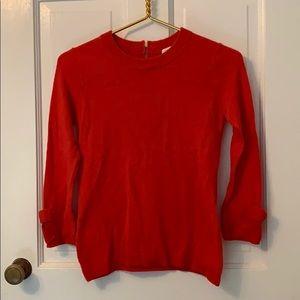 Kate Spade coral sweater